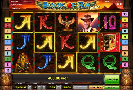 welches online casino boock of ra