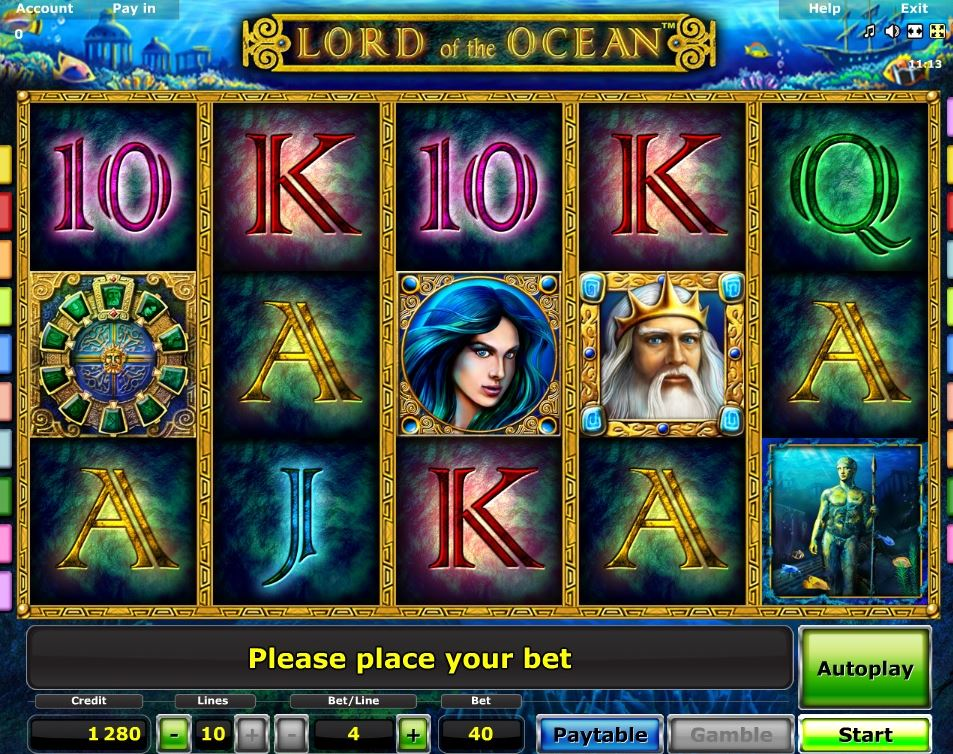 novoline lord of the ocean online