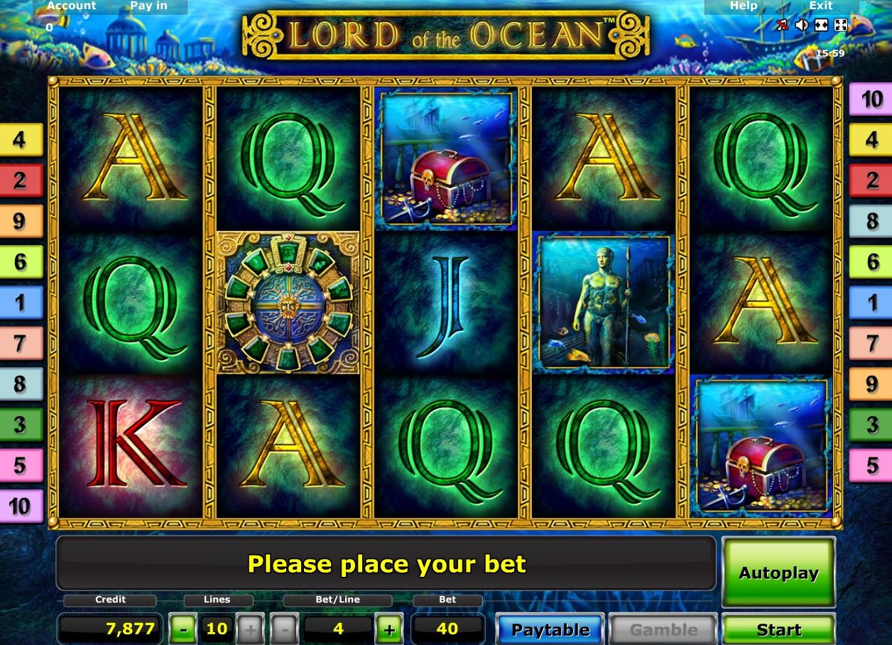 casino book of ra online lord of the ocean